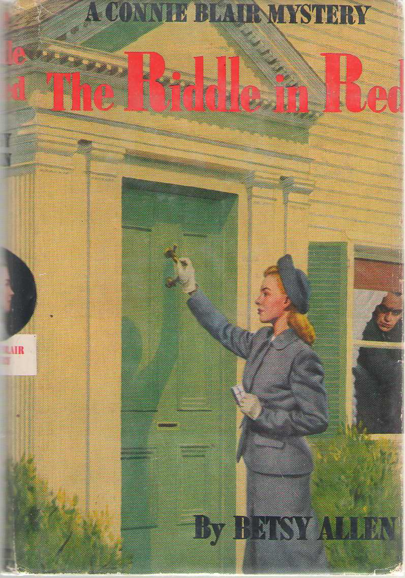 The Riddle In Red A Connie Blair Mystery, Allen, Betsy