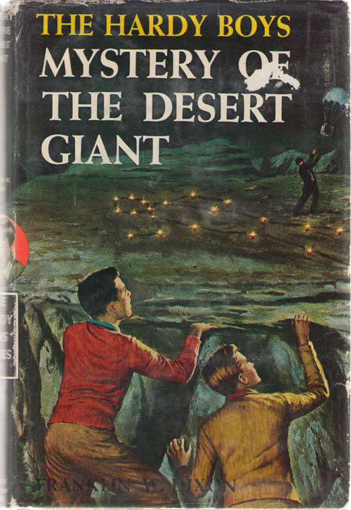 Mystery Of The Desert Giant, Dixon, Franklin W.