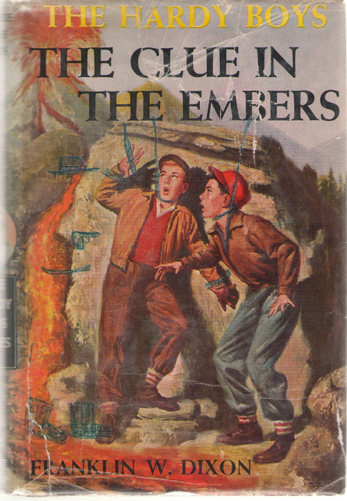 The Clue In The Embers, Dixon, Franklin W. (Almquist, John)
