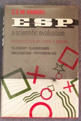 E S P A Scientific Evaluation , Hansel, C. E. M. (Charles Edward Mark)