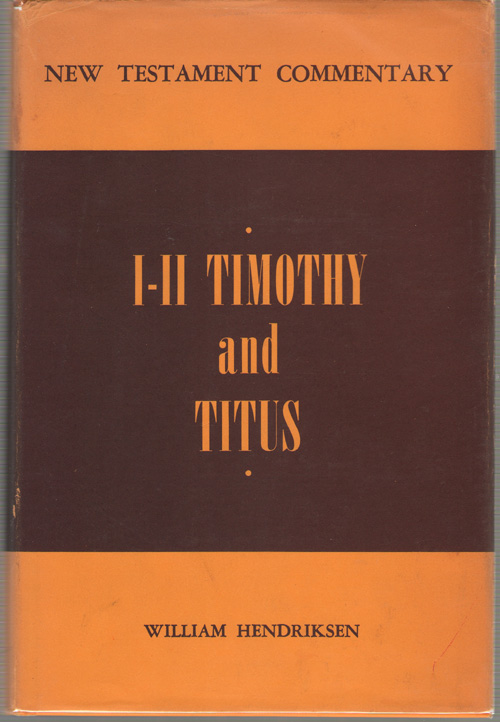 Image for First and Second Timothy and Titus