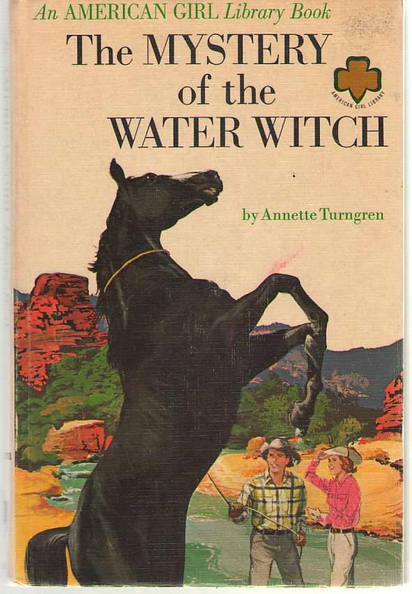 The Mystery Of Water Witch, Turngren, Annette; Woohiser, Harvey (Illustrator)