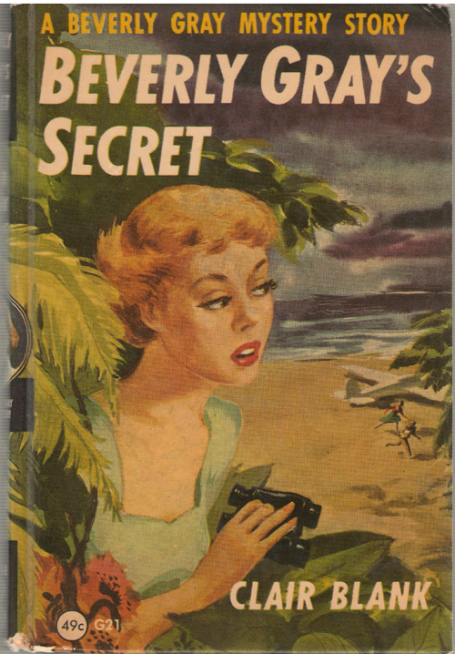 Beverly Gray's Secret, Blank, Clair