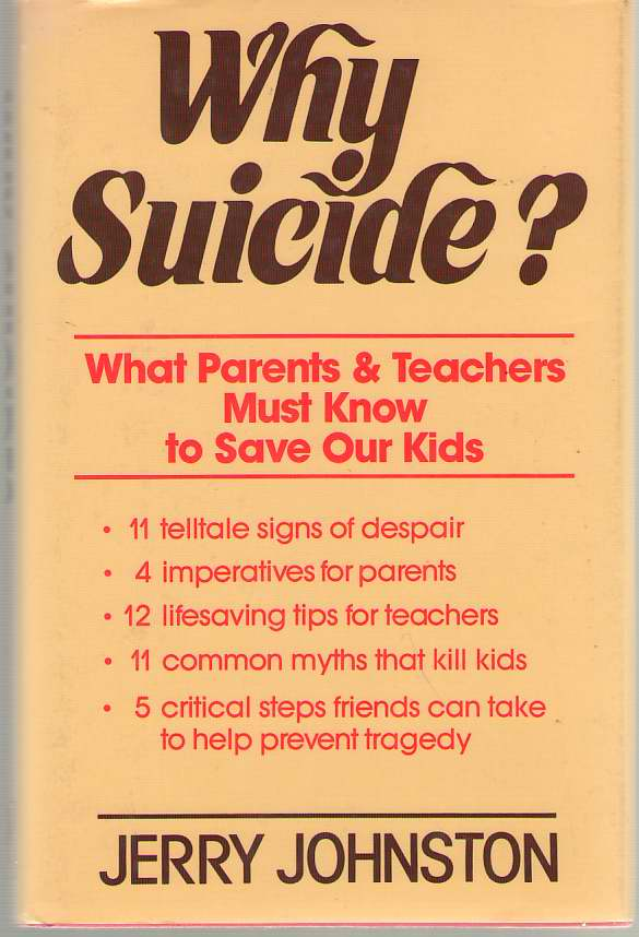 Why Suicide?, Johnston, Jerry