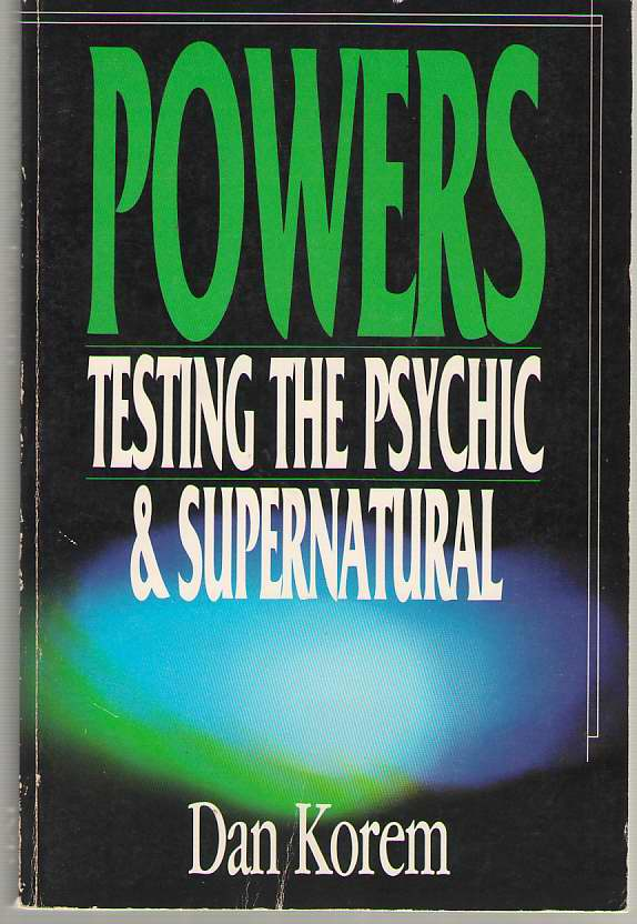 Powers Testing the Psychic & Supernatural, Korem, Danny