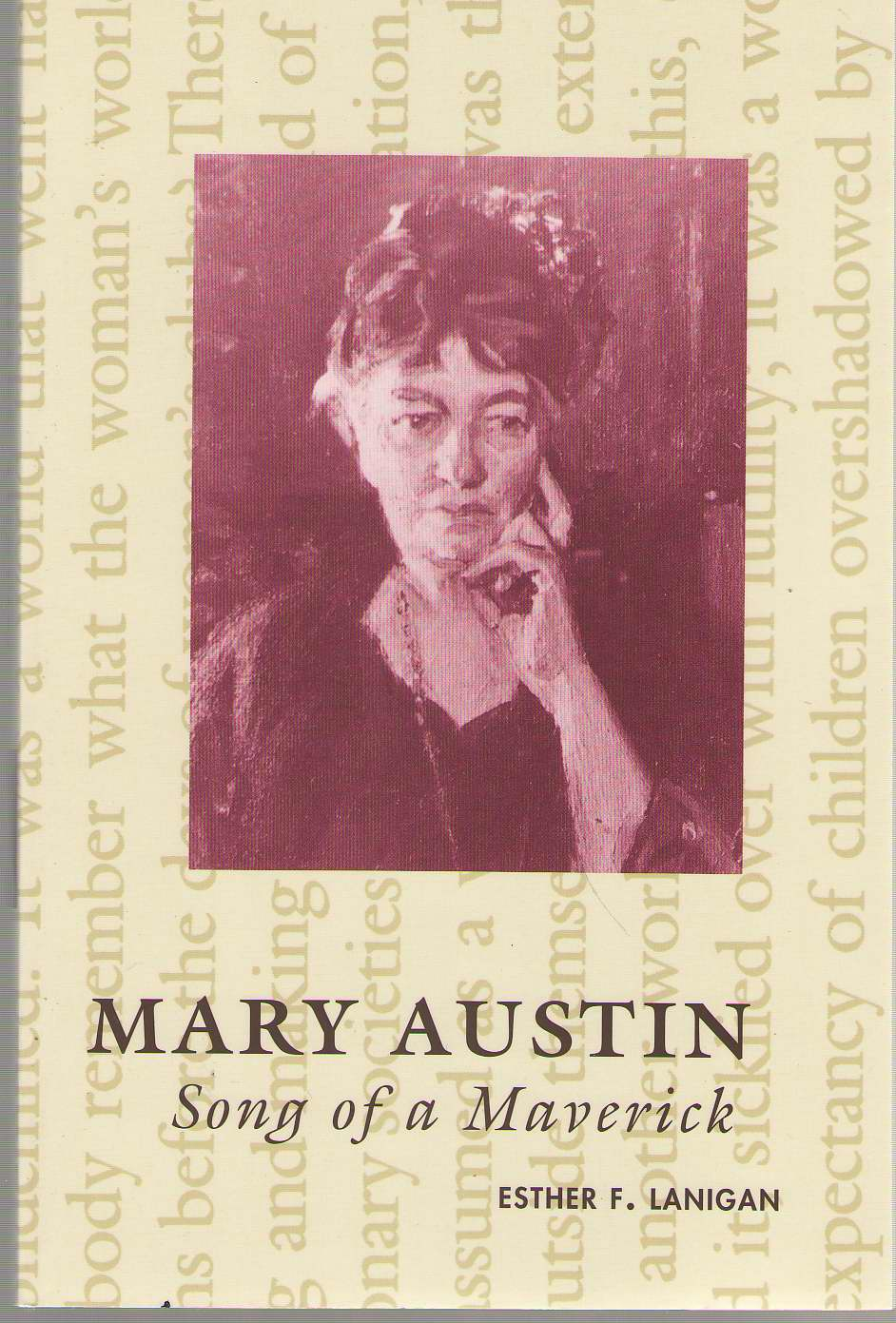 Image for Mary Austin Song of a Maverick