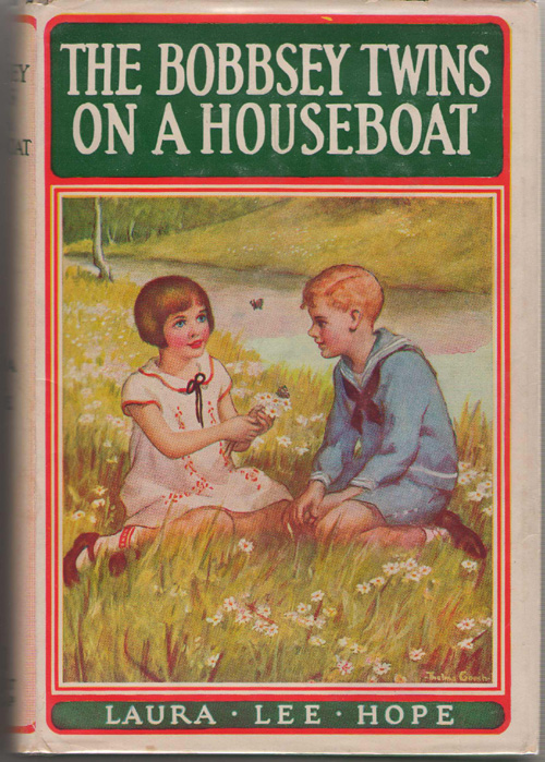 The Bobbsey Twins On A Houseboat, Hope, Laura Lee; Garis, Howard (Ghost Writer)