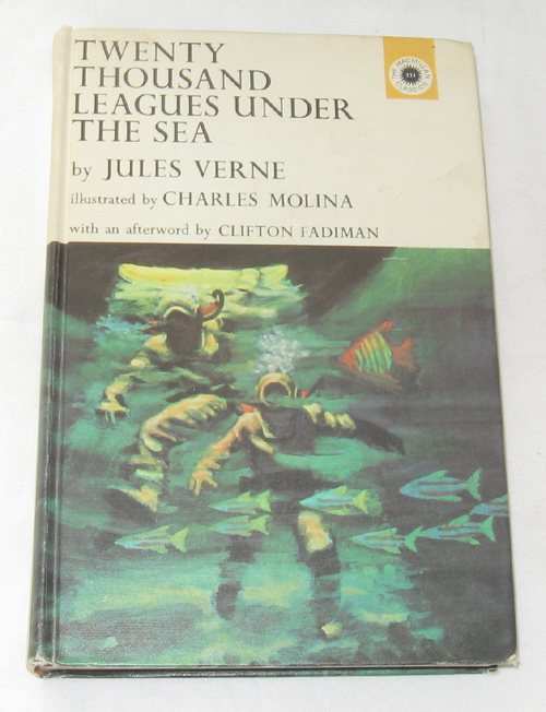 Twenty Thousand Leagues Under The Sea, Verne, Jules; & Molina, Charles (Illustrator)