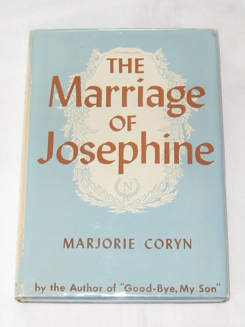 The Marriage of Josephine, Coryn, Marjorie