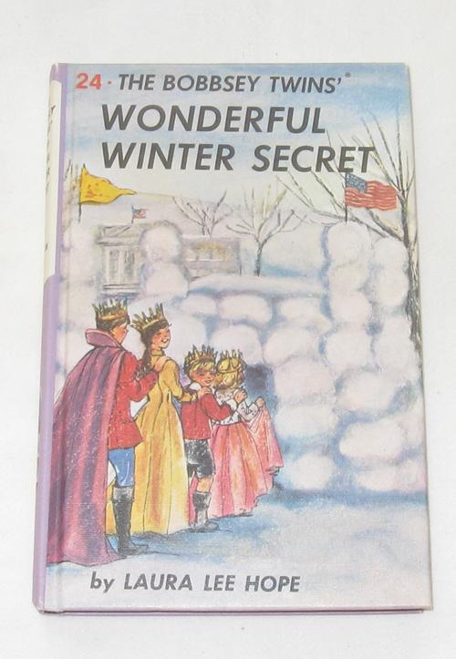 The Bobbsey Twins Wonderful Winter Secret, Hope, Laura Lee