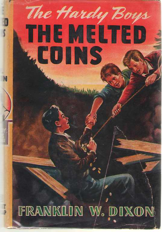 The Melted Coins, Dixon, Franklin W. (Mc Farlane, Leslie)