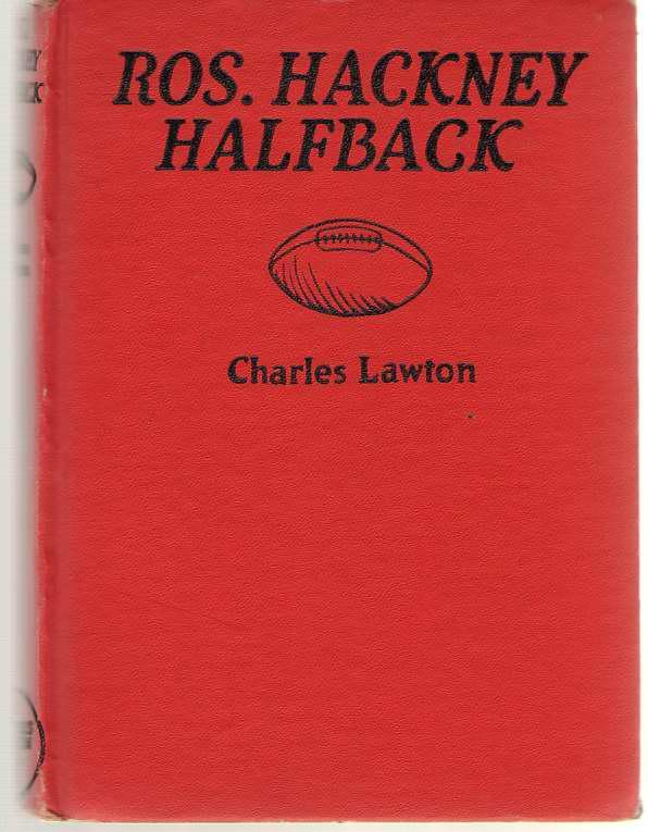 Ros. Hackney - Halfback, Lawton, Charles
