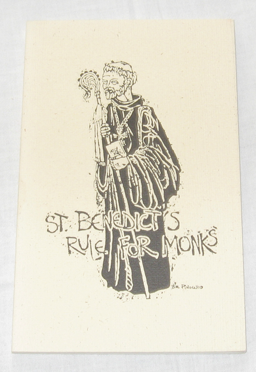 St. Benedicts Rule for Monks  Selected Passages from the Rule of St. Benedict