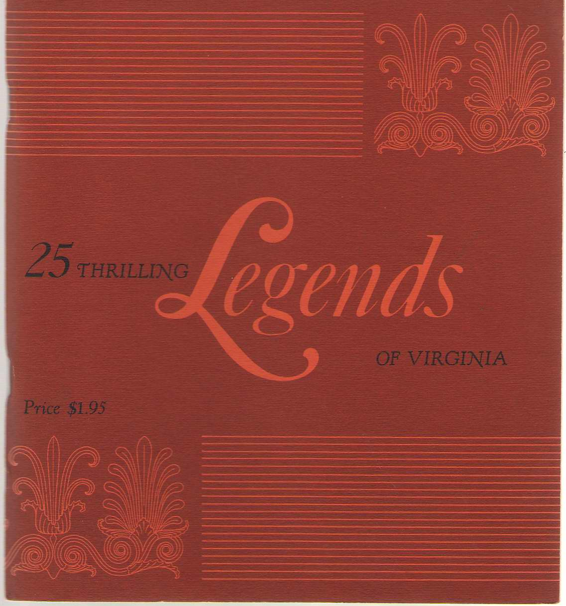 Image for 25 Thrilling Legends of Virginia