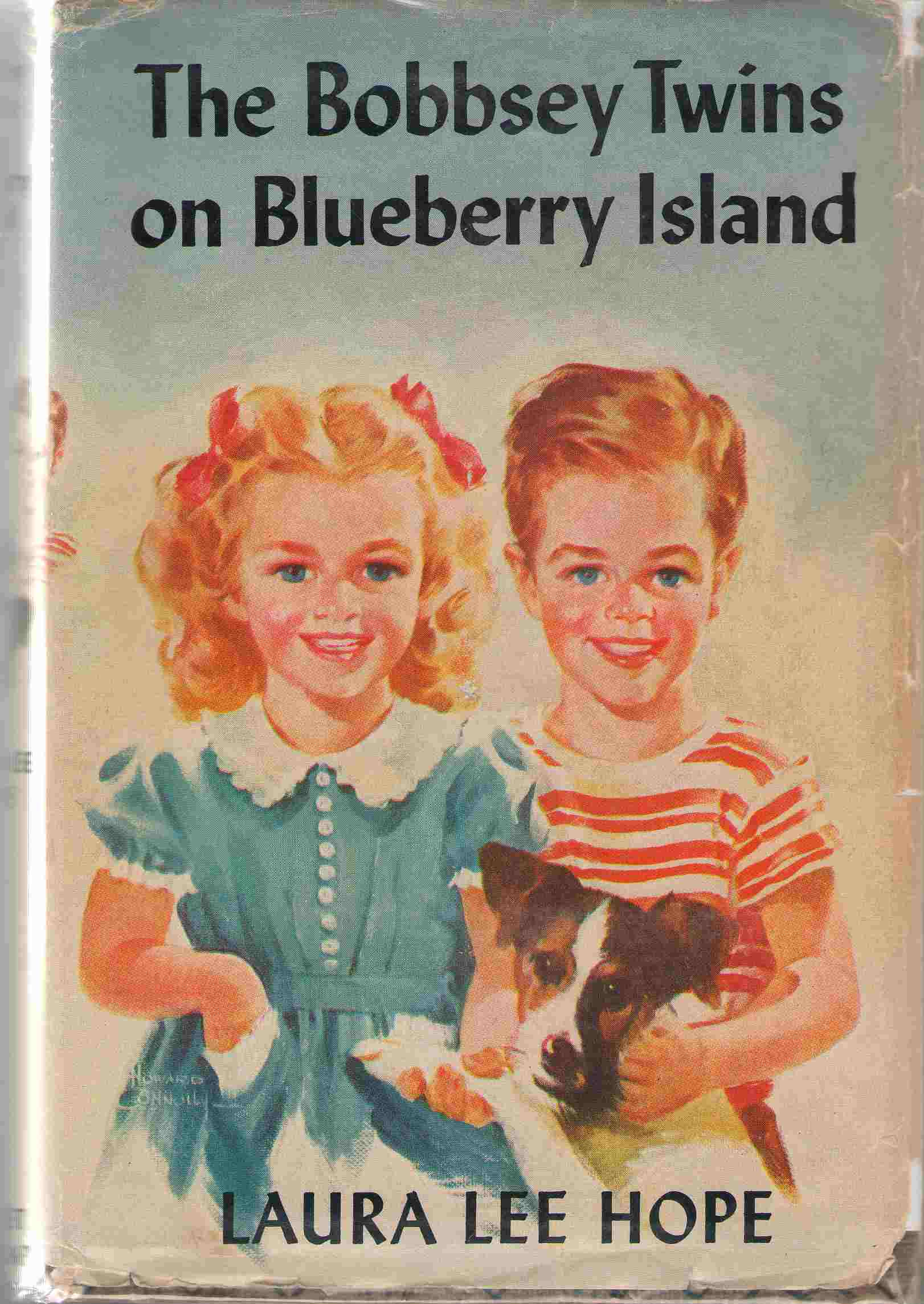 The Bobbsey Twins On Blueberry Island, Hope, Laura Lee; Garis, Howard R. (Ghost Writer)