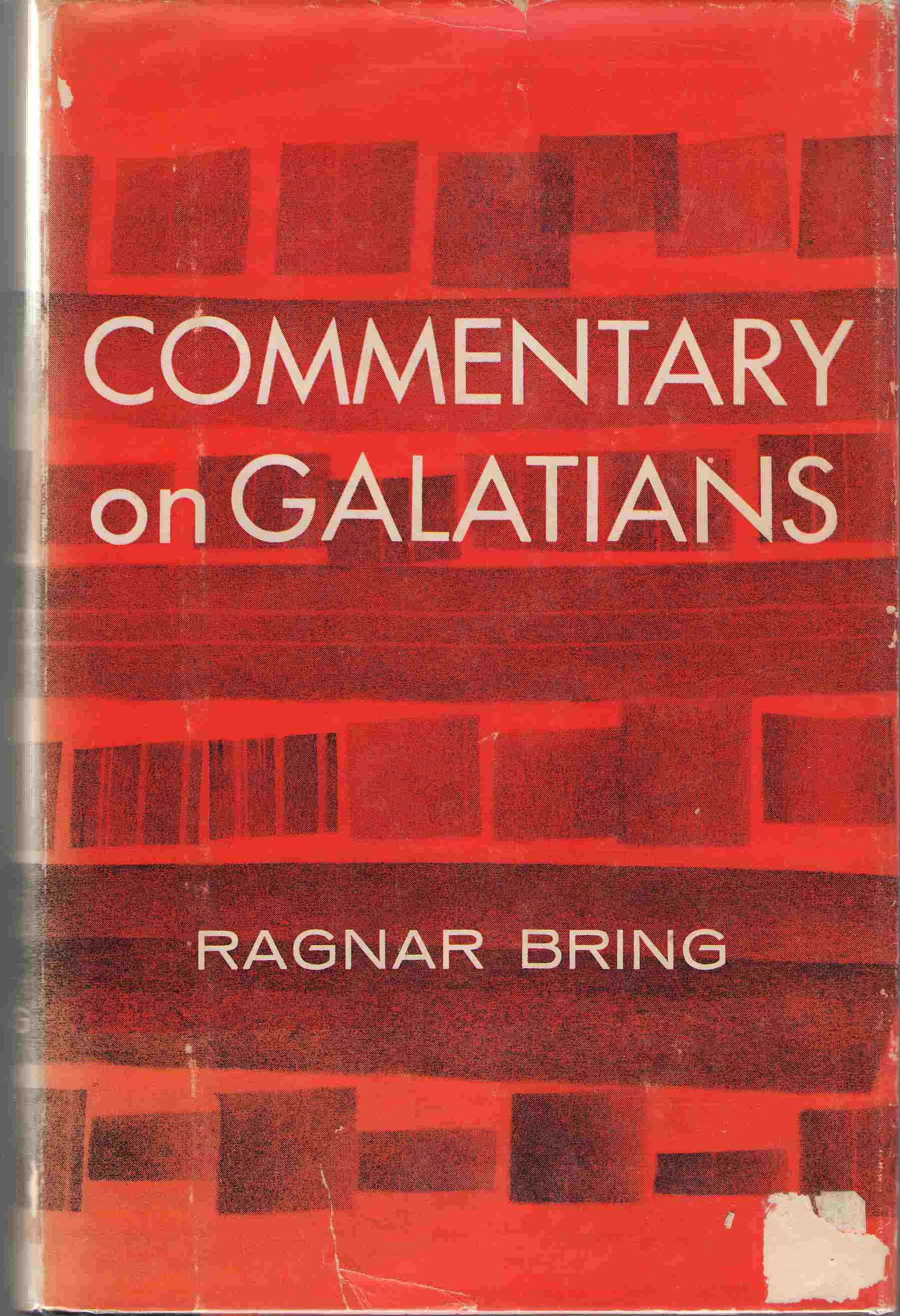 Commentary on Galatians, Bring, Ragnar; Wahlstrom, Eric (translator)