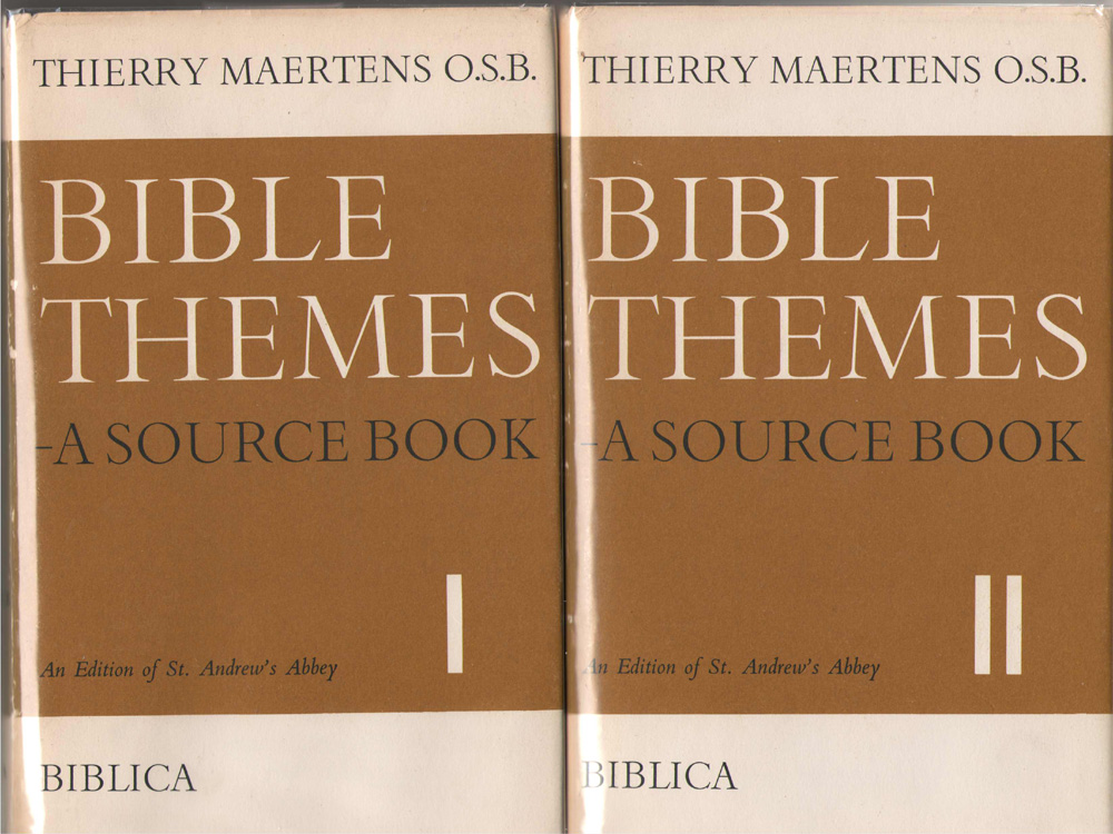 Bible Themes A Source Book; 2 Volume Set, Maertens, Thierry