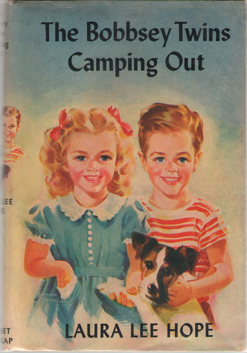 The Bobbsey Twins Camping Out, Hope, Laura Lee; Garis, Howard (Ghost Writer - Original Text) ; Donahoe, Mary Ann & Svenson, Andrew E. (Ghost Writer - Revision)