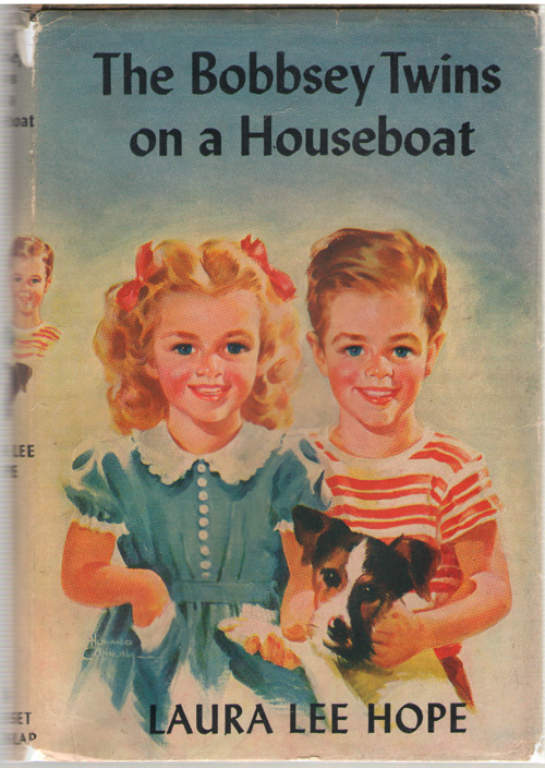 The Bobbsey Twins On A Houseboat, Hope, Laura Lee; Garis, Howard (Ghost Writer - Original Text) ; Donahoe, Mary Ann & Doll, Patricia (Ghost Writer - Revision)