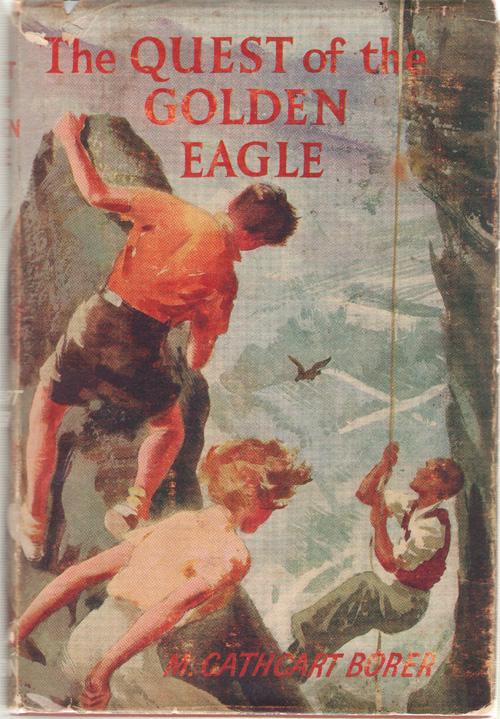 The Quest of the Golden Eagle, Borer, Mary Cathcart; Hodgson, Robert (Illustrator)