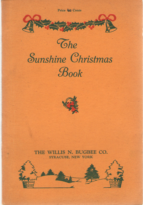 The Sunshine Christmas Book, Irish, Marie