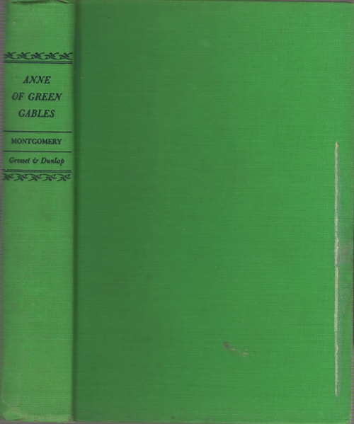 Anne Of Green Gables, Montgomery, Lucy Maud