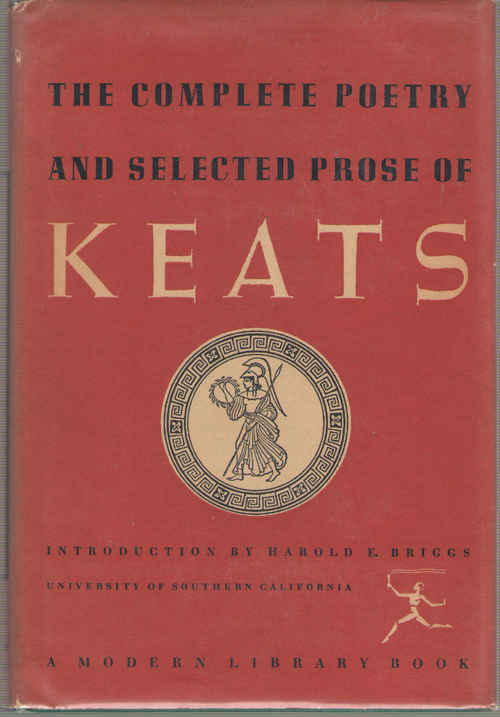 The Complete Poetry And Selected Prose Of John Keats, Keats, John