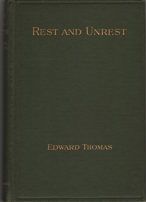 Rest And Unrest, Thomas, Edward