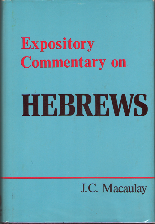 Image for Expository Commentary On Hebrews