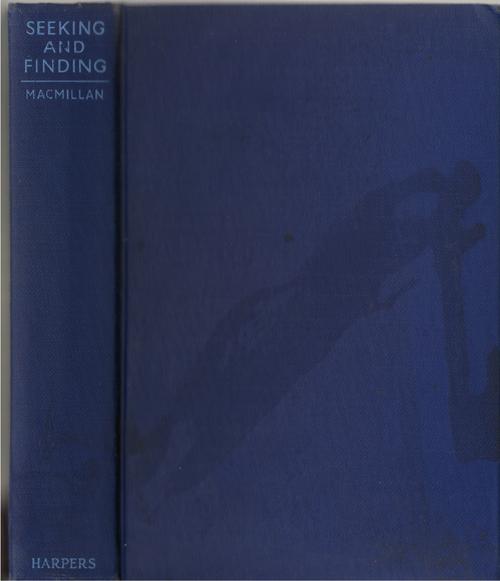 Seeking And Finding, Macmillan, Ebenezer
