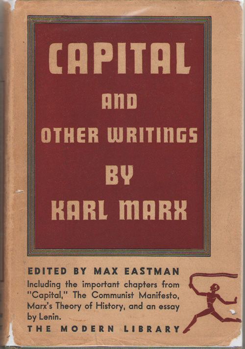 Capital And Other Writings By Karl Marx, Marx, Karl
