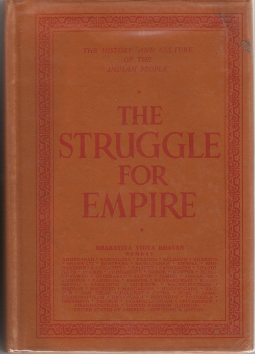 Image for The History and Culture of the Indian People  Volume 5: The Struggle for Empire