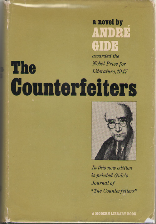 """The Counterfeiters With Journal of """"The Counterfeiters"""", Gide, Andre"""