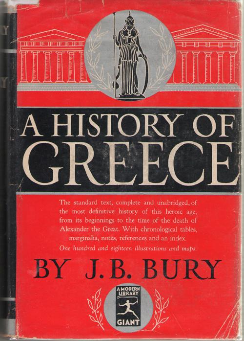 A History Of Greece To the Death of Alexander the Great, Bury, J. B.