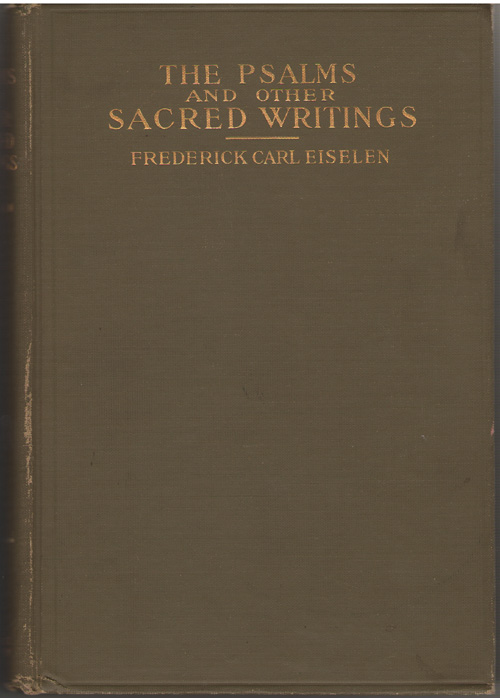 Image for The Psalms and Other Sacred Writings