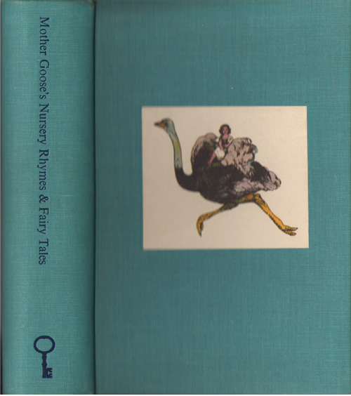 Mother Goose's Nursery Rhymes & Fairy Tales, No Author Noted
