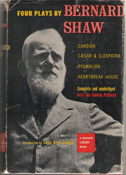 Four Plays By Bernard Shaw, Shaw, Bernard