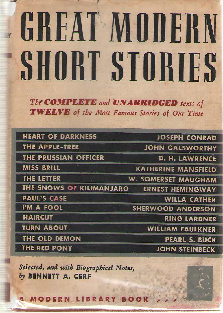 Great Modern Short Stories An Anthology of Twelve Famous Stories and Novelettes