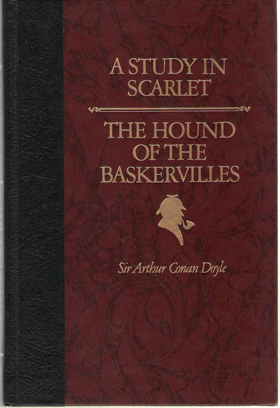 A Study in Scarlet & the Hound of the Baskervilles, Sir Arthur Conan Doyle & Greg Spalenka & G. K. Chesterton