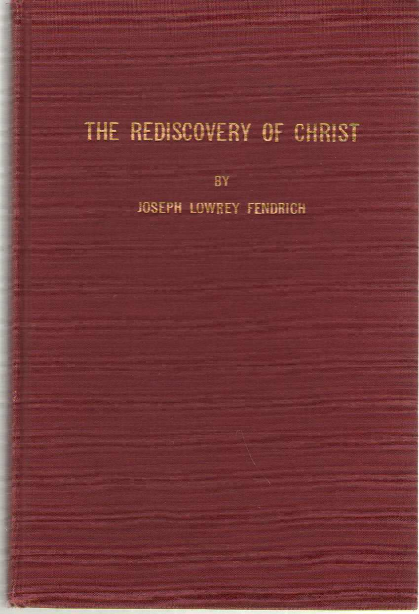 Image for Rediscovery Of Christ