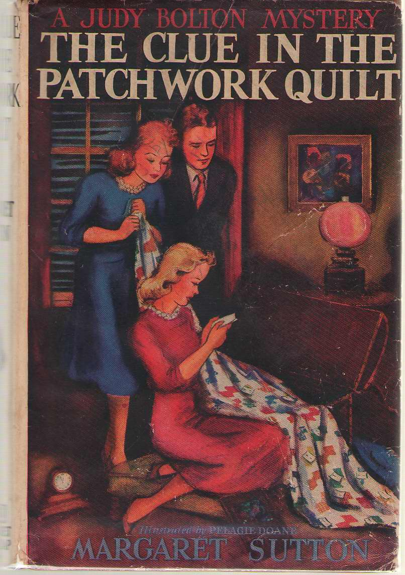 The Clue in the Patchwork Quilt, Sutton, Margaret