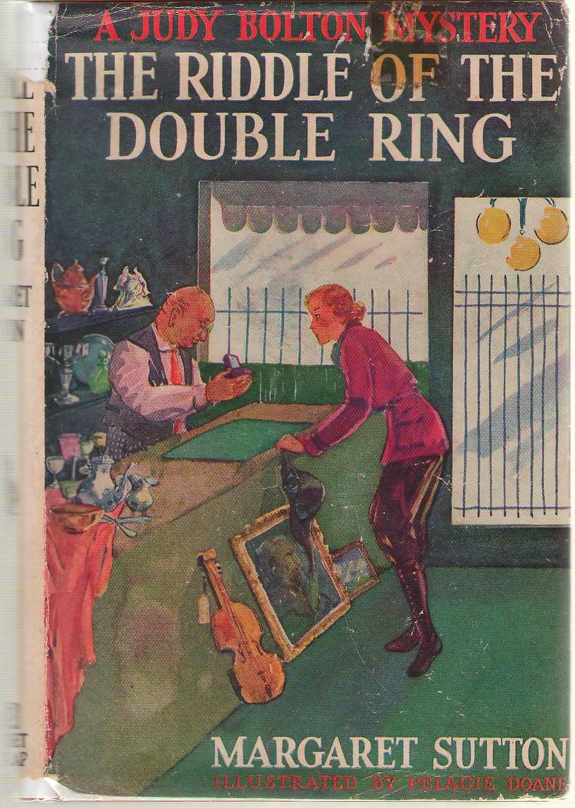 The Riddle Of The Double Ring, Sutton, Margaret; Doane, Pelagie (Illustrator)