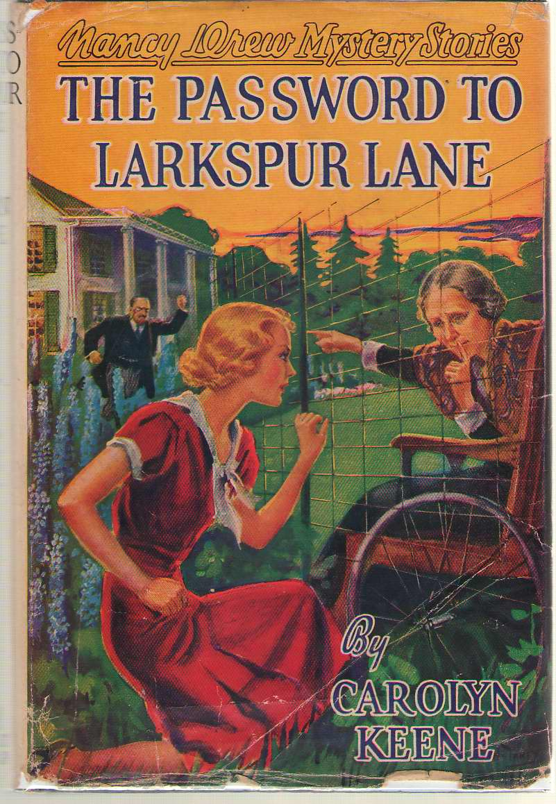 The Password To Larkspur Lane, Keene, Carolyn