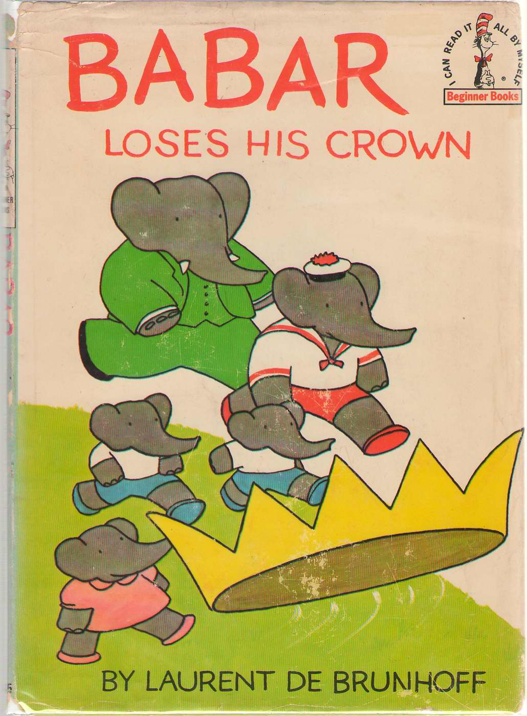 Babar Loses His Crown, De Brunhoff, Laurent
