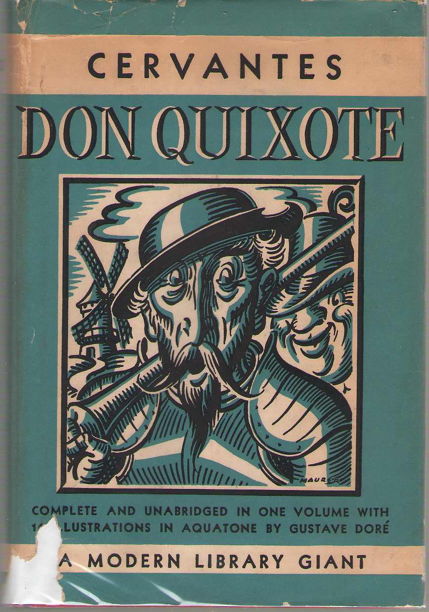 Don Quixote, De Cervantes, Miguel; Brickell, Hershell (Introduction) ; Dore, Gustave (Illustrator)