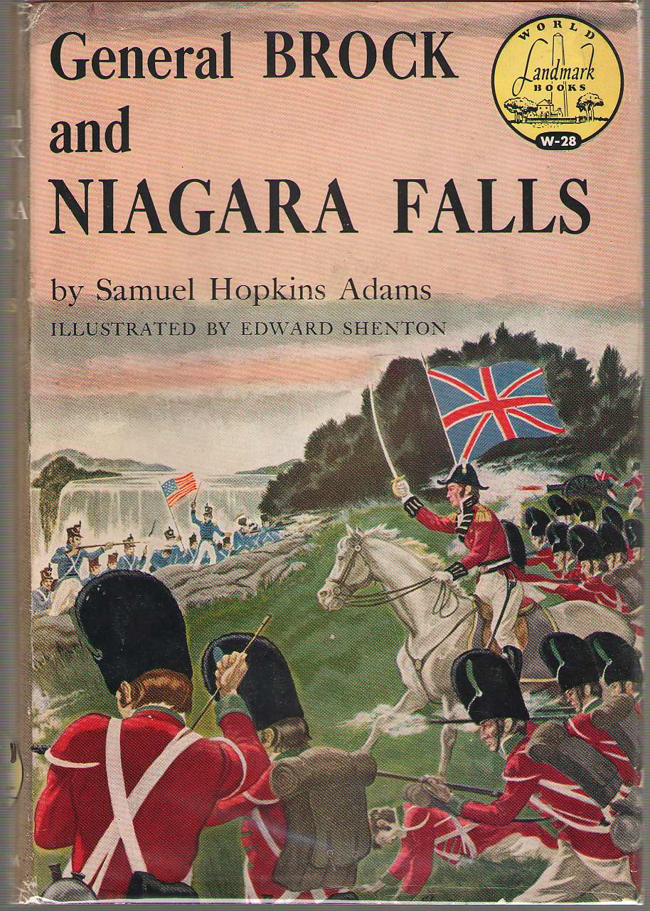 General Brock And Niagra Falls, Adams, Samuel Hopkins