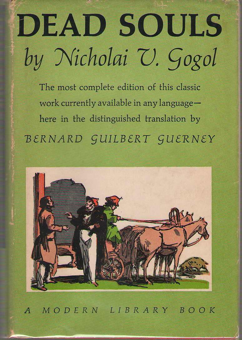 Dead Souls, Gogol, Nikolai