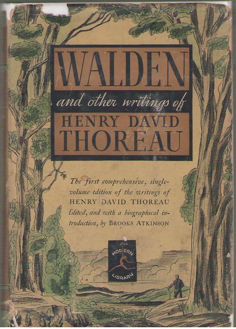 Walden And The Other Writings Of Henry David Thoreau, Thoreau, Henry David
