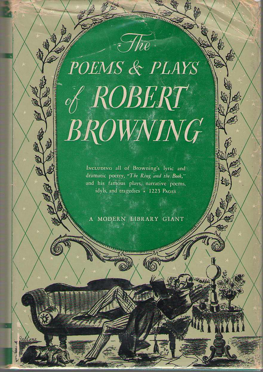 The Poems And Plays Of Robert Browning, Browning, Robert