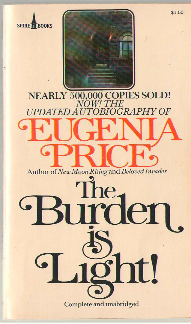 The Burden Is Light!, Price, Eugenia